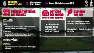 Noticiero Identidad - Lunes 22 de febrero de 2016