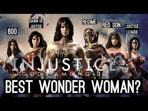 BEST WONDER WOMAN? Injustice: Gods Among Us + 2.10 UPDATE?!!