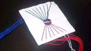 How to make homemade tools for crafts: friendship bracelet maker tool - EP
