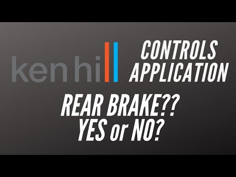 Ken Hill Coaching Podcast #40 What's the Real Story on the Rear Brake