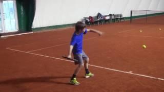 Теннис. Дневник тренировок. 34.