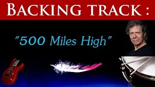 500 Miles High - Backing track