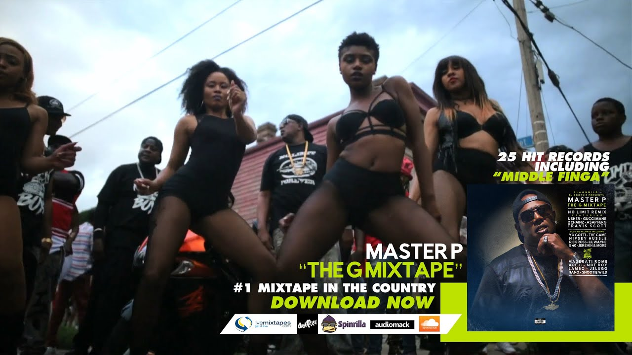 """Master P """"Middle Finga"""" (Official Music Video)"""