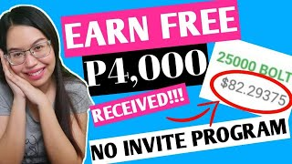 PARA SA AYAW NG INVITE: EARN FREE P4,000 SA MOBILE APP | NO INVITE PROGRAM | AUTO PAYOUT SA WALLET