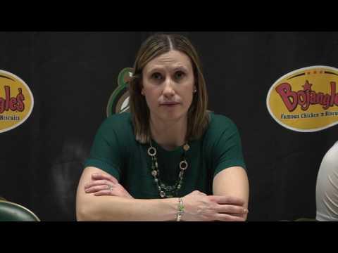 Charlotte Women's Basketball vs. North Texas Postgame