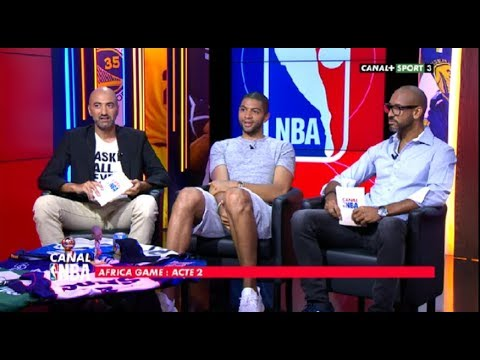 Canal NBA avec Nicolas Batum (16/06/17)