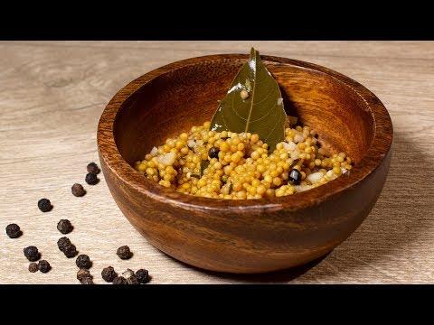 Senfkaviar einfach selbst machen