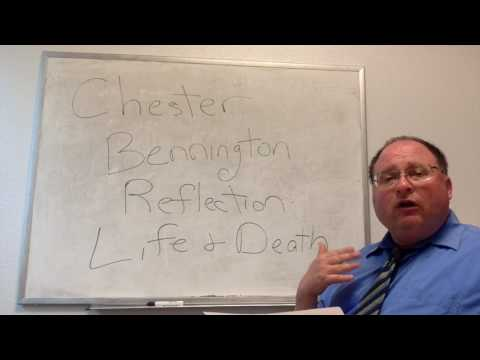 THERAPIST SPEAKS ON CHESTER BENNINGTON: REFLECTION ON LIFE AND DEATH