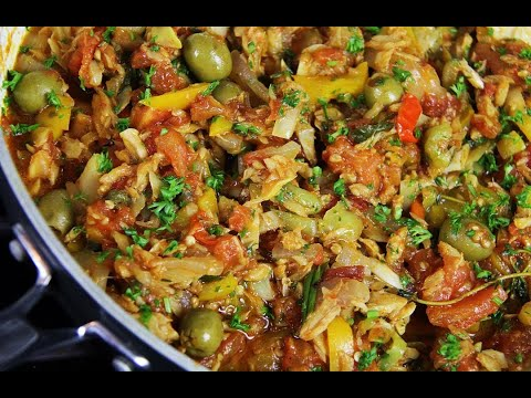 Not Grandma's Stewed Saltfish #tastyTuesdays | CaribbeanPot.com