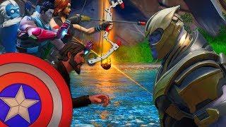 [ Fortnite | Court-métrage ] Les Nouveaux Avengers Affrontent Thanos ! #30