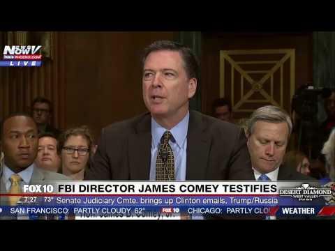 FNN: FBI Director James Comey Opening Statement at Trump/Russia Senate Judiciary Committee Hearing