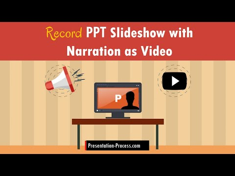 Record A Slideshow With Narration As A Video In PowerPoint