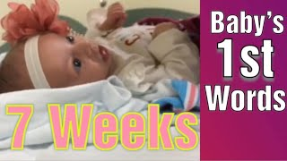 My Baby Started Talking At 7 Weeks Old!