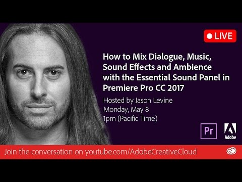 How to Mix Dialogue, Music & SFX w/Essential Sound in Premiere Pro