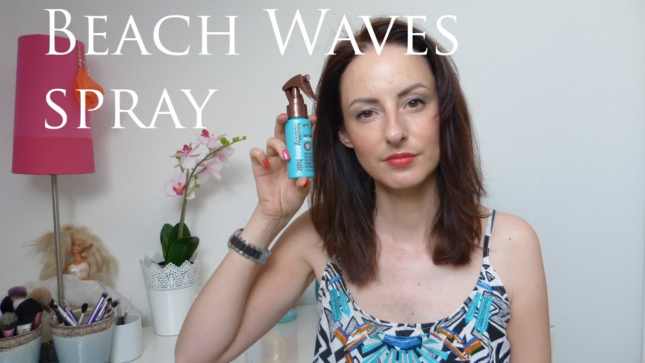 Sexy hair beach spray