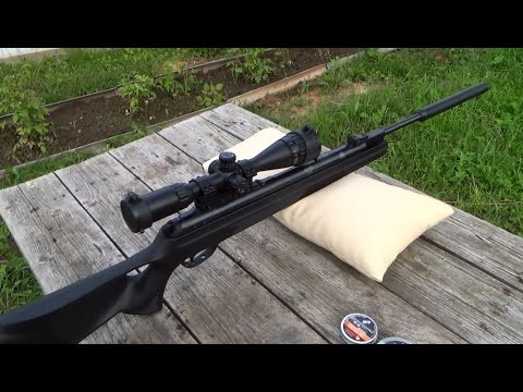Самая мощная пневматическая винтовка Hatsan 125, отстрел, тест саундмодератора обзор глушителя