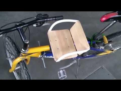 детское сиденье на велосипед своими руками