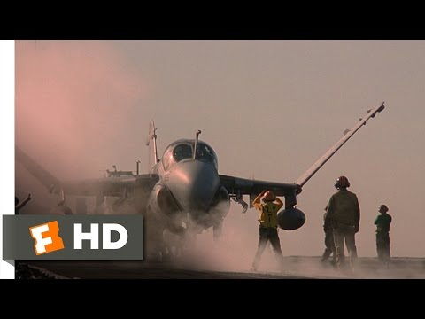 Flight of the Intruder (7/10) Movie CLIP - Let's Go Downtown (1991) HD