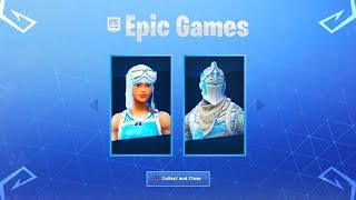 Les nouvelles peaux de Fortnite FROZEN! (New Fortnite Battle Royale Skins)