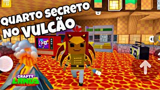 CRAFTY LANDS ESCONDERIJO SECRETO NO VULCÃO! PETER GAMES PETER TOYS