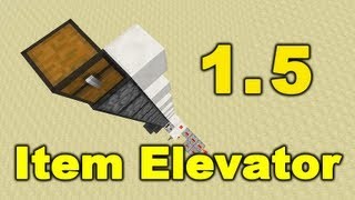 Minecraft Easy Item Elevator 1.5.1 Thumbnail