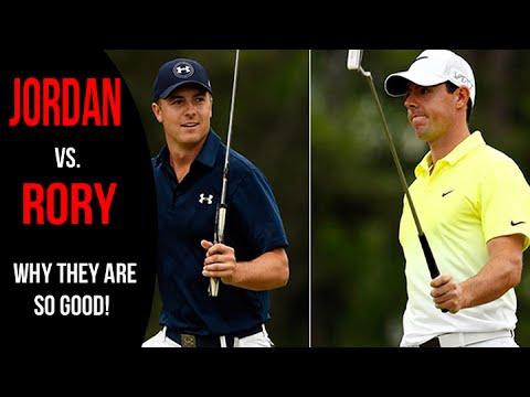 Rory Mcilroy Vs. Jordan Spieth -  Golf Swing Comparison