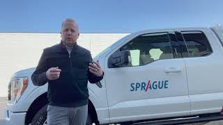 Sprague 2021 Ford F-150 Service Vehicle Walkthrough