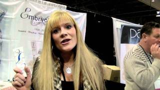 IMATS Toronto 2011 with Michelle L Shaffer VP of Embryolisse Laboratories Thumbnail
