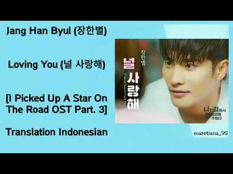 Jang Han Byul (장한별) – I Love You (널 사랑해) Lyrics INDO I Picked Up A Star On The Road OST Part. 3
