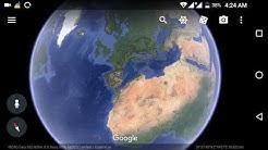 Google Earth live satellite map New updates
