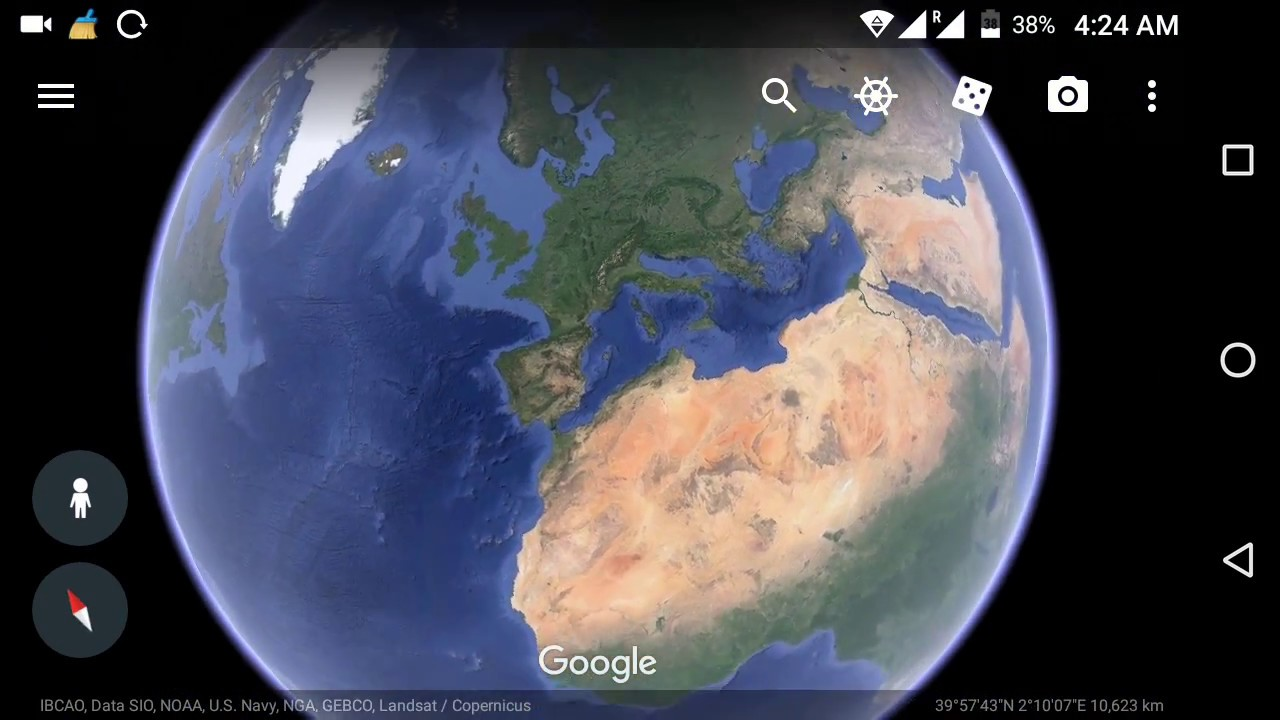 Google Earth live satellite map New updates - YouTube on