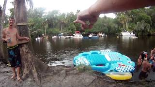 Repeat youtube video Bikini Fail: Slip in the Mud