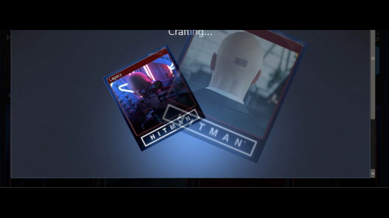Hitman 2016 Crafting Steam Badges lvl 1 Rewards!
