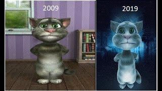 Talking tom cat 10 year Challenge funny video in [Urdu + Hindi]