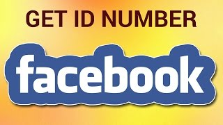 How Get Someones Facebook Id Number