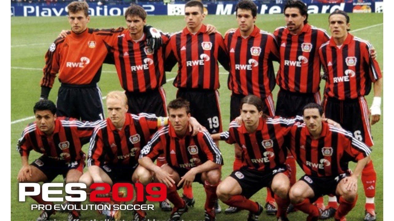 Bayer Leverkusen 2002 Squad   Real Let's Game - YouTube