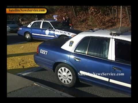 BARNSTABLE, MA- Unarmed Armed Suspect Arrest at Cape Cod Community College (12-14-10)