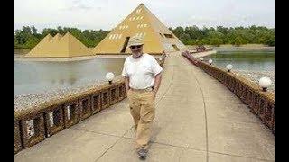 他在院子蓋一座金字塔 奇蹟竟發生了
