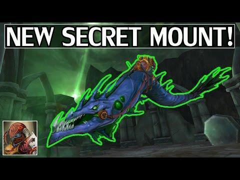 New Secret Mount - Riddler's Mind-Worm - What We Know So Far - WoW Legion