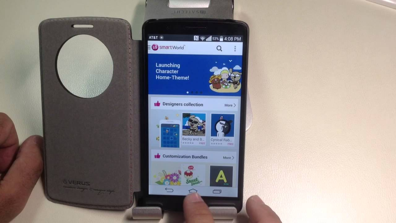 LG G3 Tips  How use themes to change the look of your phone   YouTube