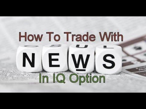 IQ Option (Hindi): How To Trade With News In IQ Option   Amazing Profit   Binary Option India