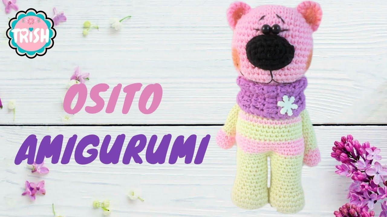 Patrón de oso de peluche Amigurumi patrón de ganchillo gratis ... | 720x1280