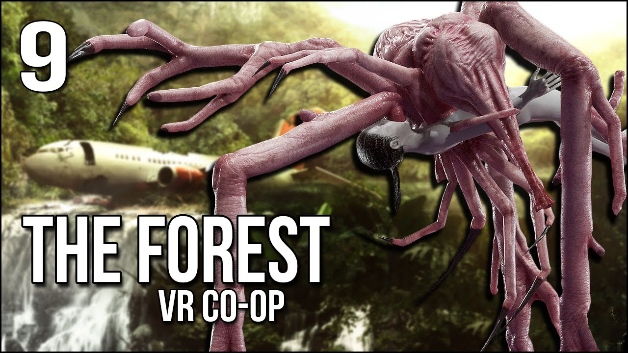 The Forest VR   Ending?   Don't Worry, Timmy! We're Coming!