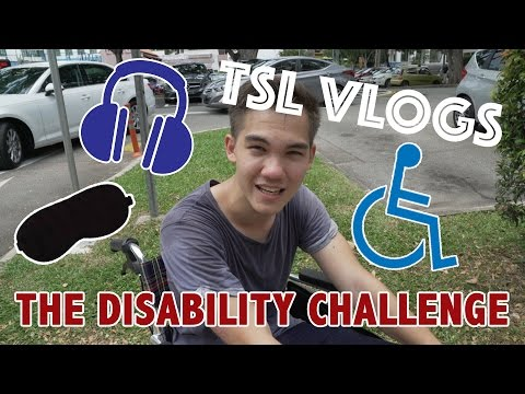 The Disability Challenge | TSL Vlogs | EP 17