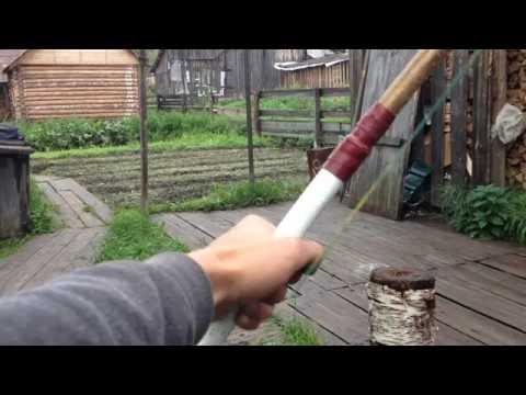 CRAFT - Как сделать охотничий лук из игры Rust/ How to make Hunting Bow from the game Rust