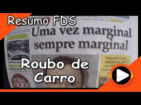 Resumo FDS: Roubo de Carro - Db In The USA #151