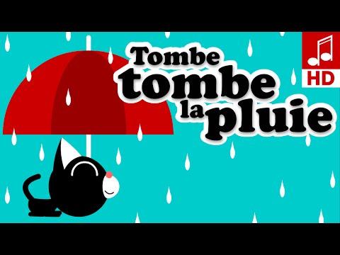 TOMBE TOMBE LA PLUIE Comptine maternelles & chanson pour bébé