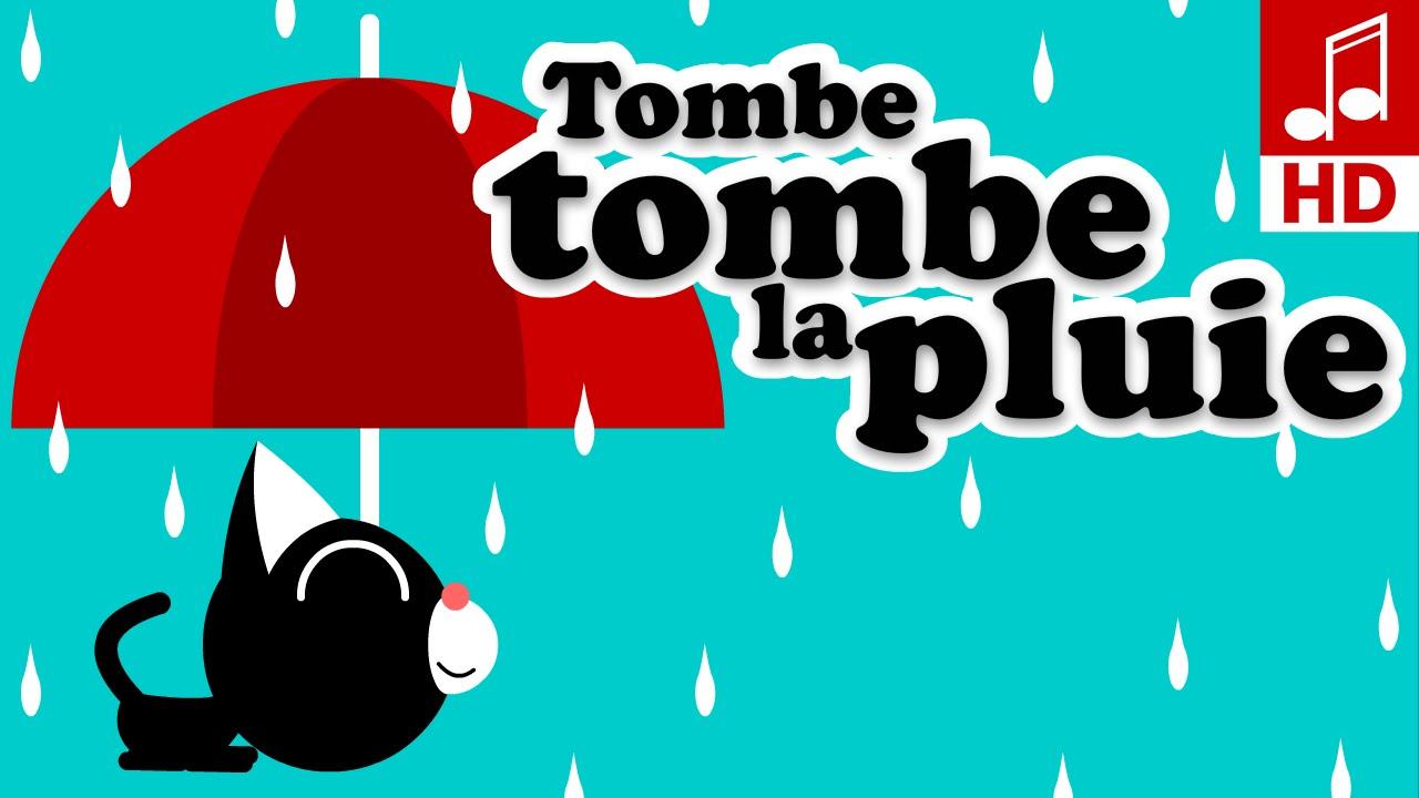 Tombe Tombe La Pluie Comptine Maternelles Chanson Pour Bébé Youtube
