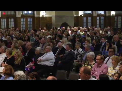 University of Iowa College of Law Commencement - May 13, 2016