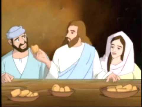 La Ultima Cena de Jesús 1/5